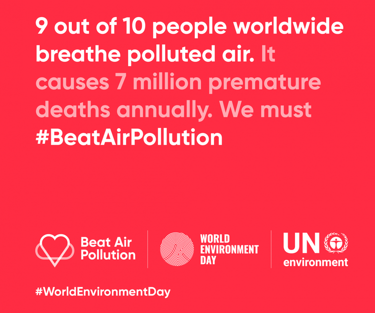 "World Environment Day 2019: ""Beat Air Pollution"""