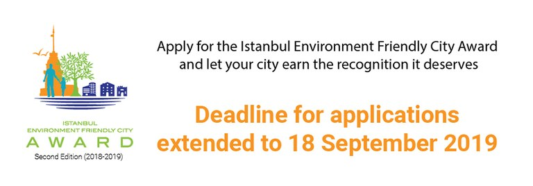 ISTANBUL ENVIRONMENT FRIENDLY CITY AWARD