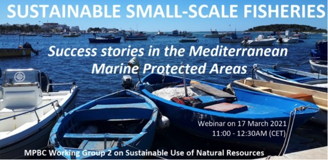 WEBINAR ON THE SUCCESSES OF SUSTAINABLE ARTISANAL FISHING (SSF) IN MEDITERRANEAN MARINE PROTECTED AREAS (MPAS)