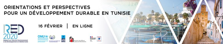 WEBINAR ORIENTATIONS & PERSPECTIVES FOR SUSTAINABLE DEVELOPMENT IN TUNISIA
