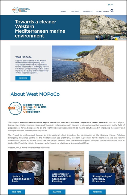 Launch of the West MOPoCo Website