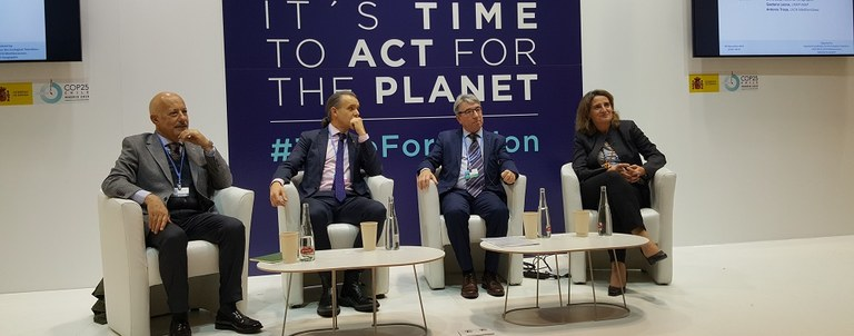 THE MEDITERRANEAN IN THE GLOBAL SPOTLIGHT OF COP25, TWO DAYS AFTER THE CONCLUSION OF THE REGIONAL COP21 OF THE BARCELONA CONVENTION