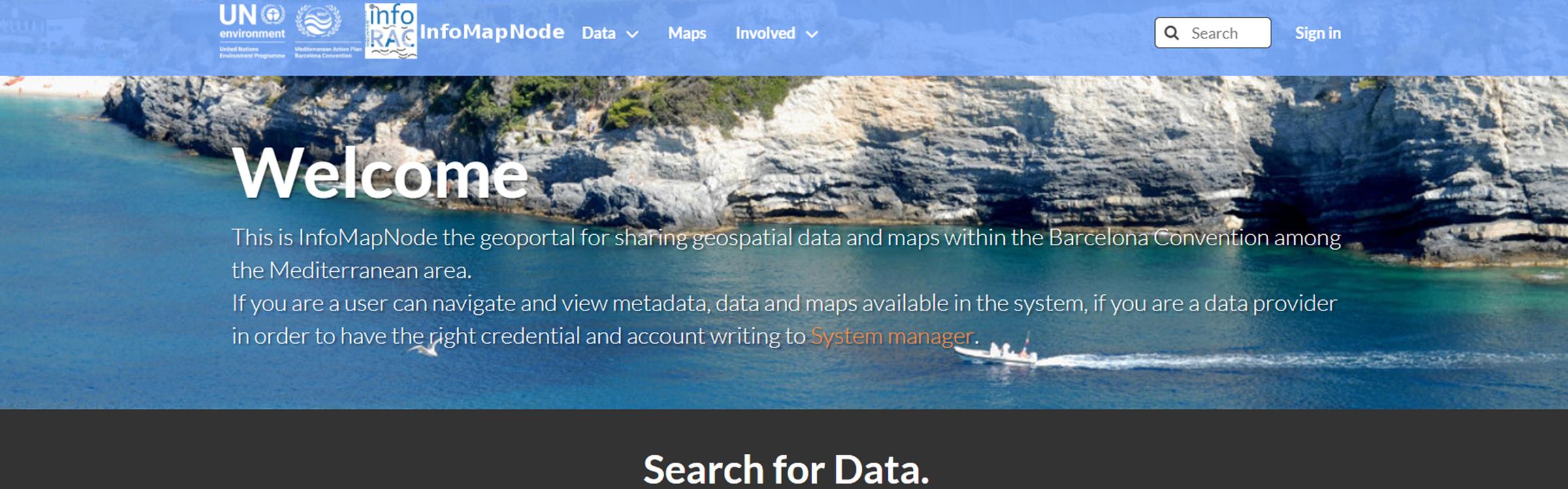 InfoMAP Geoportal