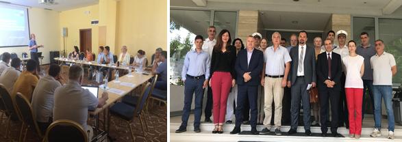 Formation nationale sur la lutte contre les marées noires (Cours OPRC de l'OMI, niveau 2) délivré par le REMPEC au Monténégro