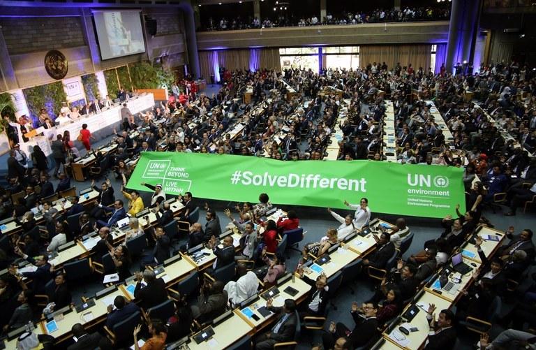 La voix du PAM entendue à l'Assemblée des Nations Unies pour l'environnement (Nairobi, Kenya, 11-15 mars 2019)
