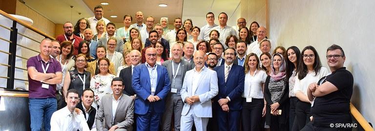 Le Coordinateur de l'ONU Environnement/PAM, Gaetano Leone, a assisté à la 14ème réunion des Points Focaux thématiques sur les Aires Spécialement Protégées et la diversité biologique