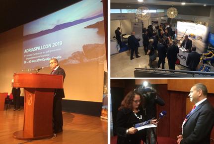 Le REMPEC soutient la 4ème conférence en Adriatique sur la pollution aux hydrocarbures (ADRIASPILLCON 2019)