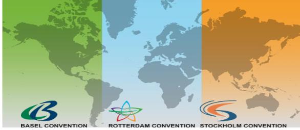 Réunions de consultation de l'ONU Environnement / PAM avec le Secrétariat des conventions de Bâle-Rotterdam-Stockholm (BRS), le secrétariat de la Convention de Minamata et l'ONU Environnement / Produits chimiques (Genève, Suisse, 8 janvier 2019)