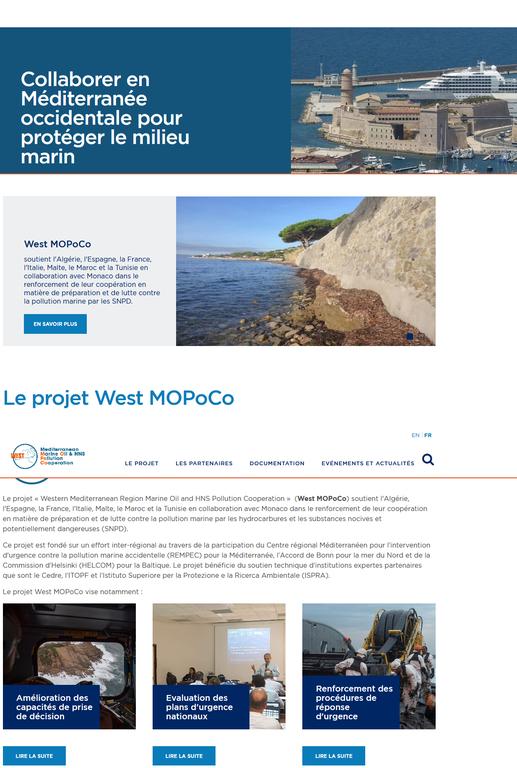 Lancement du site Web West MOPoCo