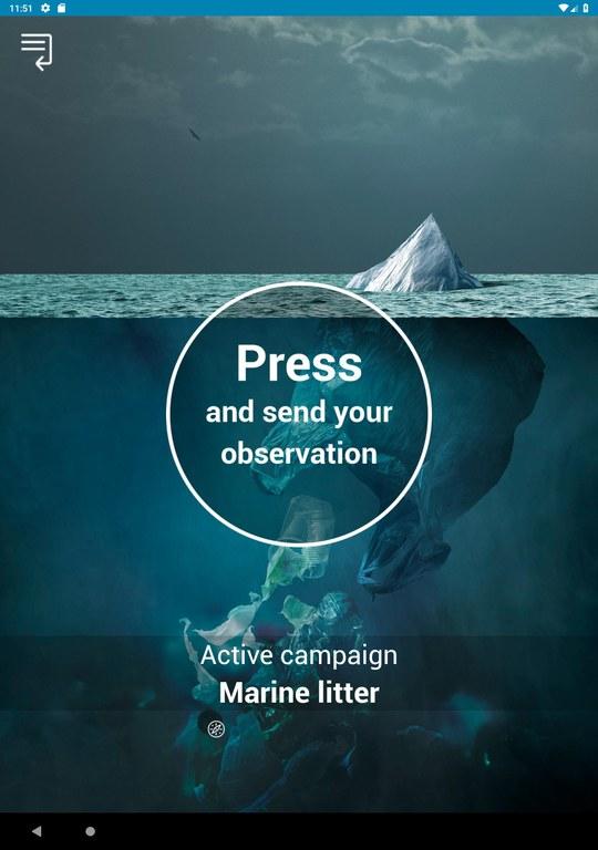 Amélioration de la gestion des déchets marins - L'application SeaWatcher