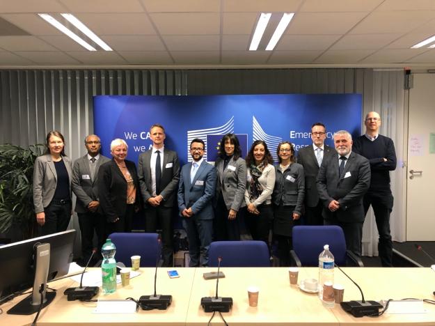 16ème réunion Inter-Secrétariat entre les secrétariats des Accords Régionaux, DG ECHO et l'AESM. 5/2/2020, Bruxelles , Belgique