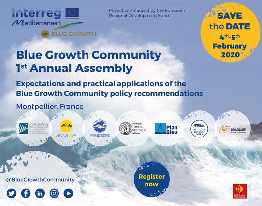 Première assemblée annuelle de la Communauté de la croissance bleue