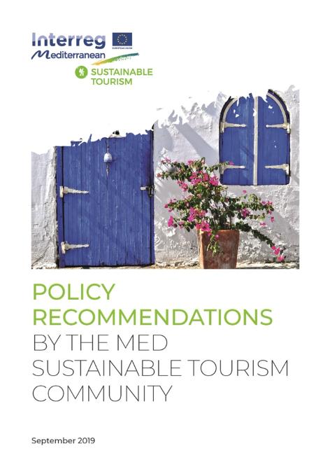 Recommandations politiques élaborées par la communauté méditerranéenne du tourisme durable
