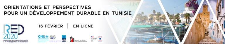 LE WEBINAR ORIENTATIONS & PERSPECTIVES POUR UN DEVELOPPEMENT DURABLE EN TUNISIE