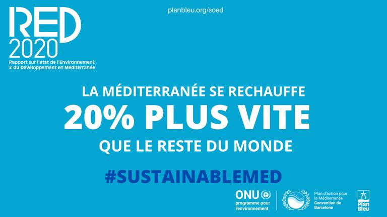 La Méditerranée: une zone critique du changement climatique